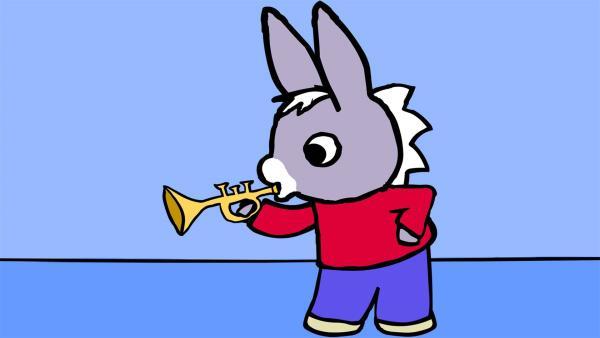 TROTRO macht gern Musik. | Rechte: KiKA/Storimages