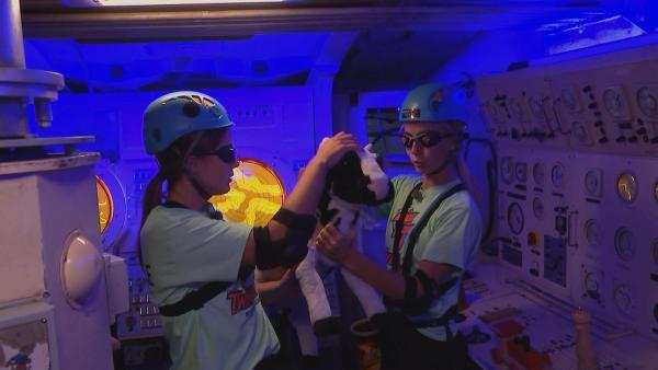 Constanze und Luise in der U-Boot-Challenge | Rechte: rbb/DOKfilm