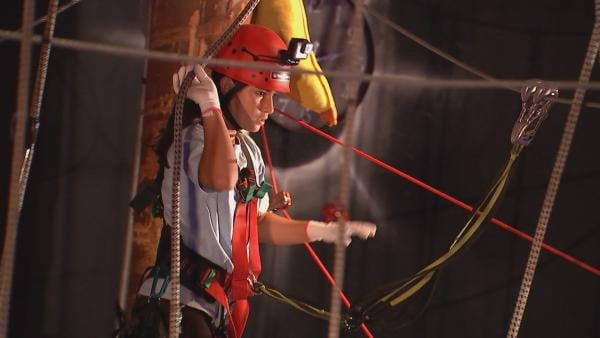Maya in der Gewichts-Challenge | Rechte: rbb/DOKfilm