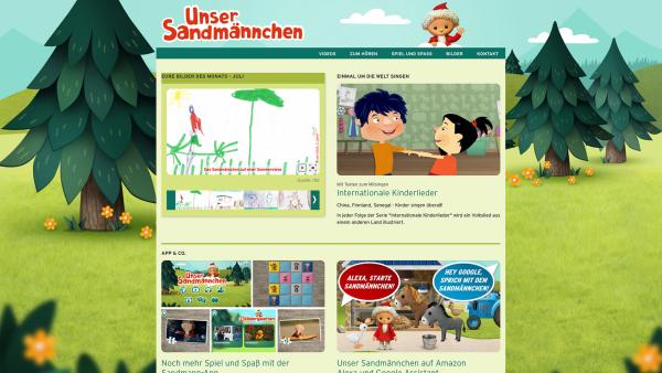 Zur Sandmann-Webseite | Rechte: mdr