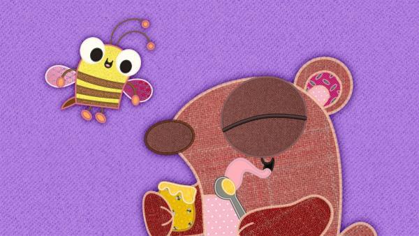 Die Freunde des Bären wollen eine Lösung für den fehlenden Honig finden. | Rechte: rbb/Studio FILM BILDER