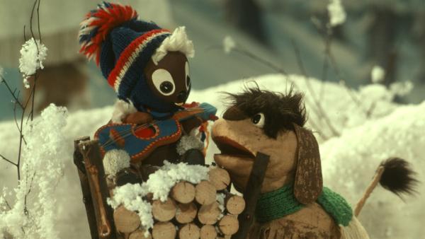 Zwei gute Freunde: Pitti und Moppi | Rechte: rbb media