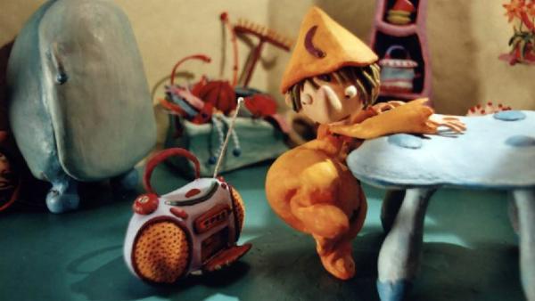 Pondorondo in seinem Haus. | Rechte: rbb/Sandmannstudio Trickfilm GmbH