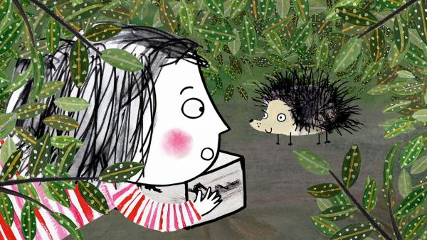 Rita möchte unbedingt ein Haustier. Ob dies das richtige ist? | Rechte: rbb/dansk tegnefilm