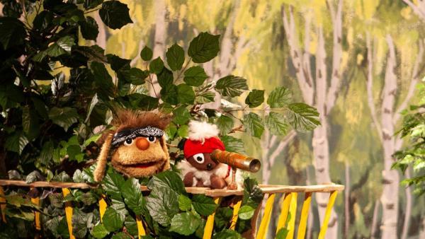 Pitti und Moppi suchen nach spannenden Abenteuern. | Rechte: rbb/Christian Merten