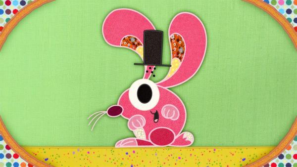 Der Hase auf meiner Schmusedecke hat ein Problem: Er lädt alle Tiere zu einem großen Zirkus ein. | Rechte: rbb/Studio FILM BILDER