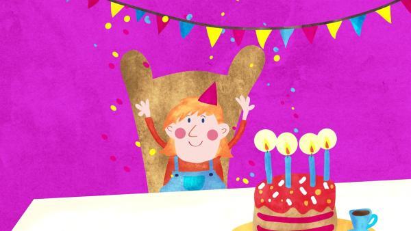 Der eigene Geburtstag ist etwas ganz Besonderes. | Rechte: rbb/MDR/B+M Entertainment GmbH