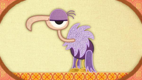 Ein Geier auf der Schmusedecke | Rechte: rbb/Studio FILM BILDER