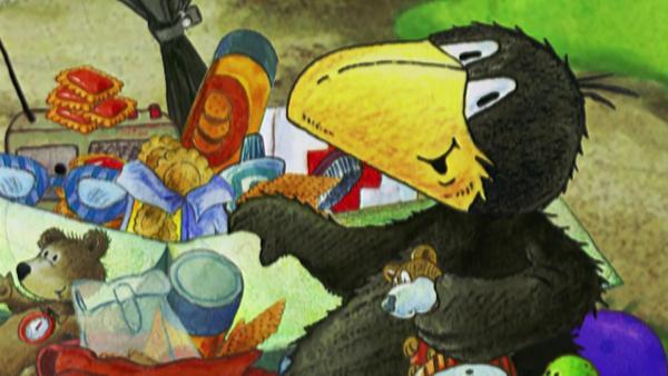 Der kleine Rabe Socke hat eine Idee. | Rechte: rbb/fischer tv + film