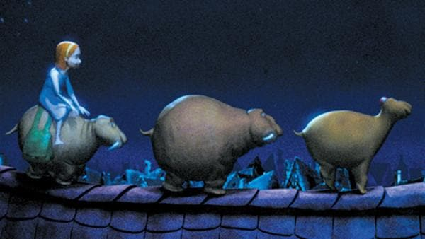 Die drei Moffels erfüllen Luzie (li.) jede Nacht einen Wunsch. | Rechte: ZDF/Digitrick Berlin