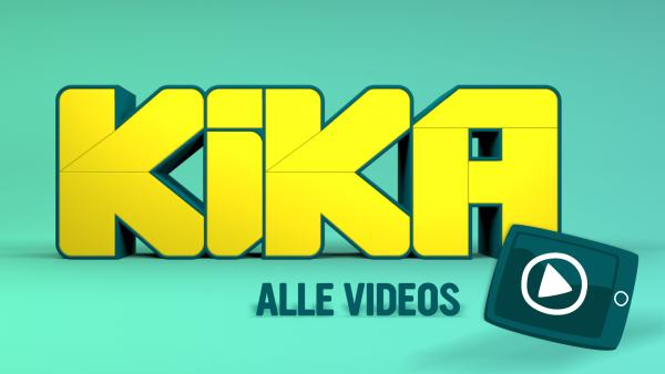 Alle Videos Teasergrafik, KiKA-Logo mit Play-Button | Rechte: KiKA