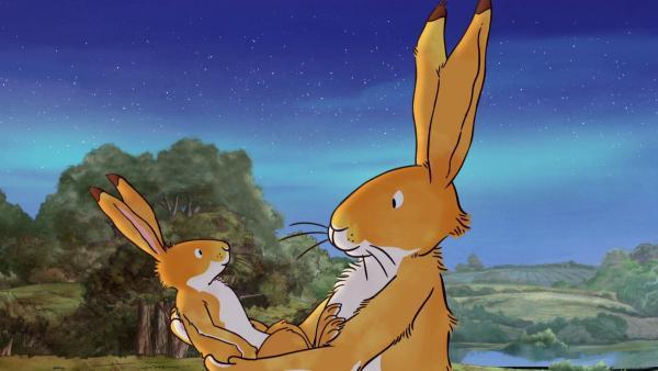 Der kleine und der große braune Hase | Rechte: KiKA/SLR Productions Australia Pty.Ltd./Scrawl Studios Pte Ltd./hr/ARD