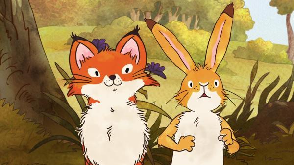 Die kleine Rotfüchsin und der kleine braune Hase | Rechte: KiKA/SLR Productions Australia Pty.Ltd./Scrawl Studios Pte Ltd./hr/ARD