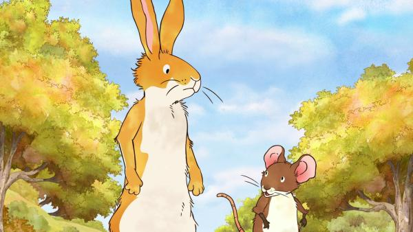 Der kleine braune Hase und die kleine Feldmaus | Rechte: KiKA/SLR Productions Australia Pty.Ltd./Scrawl Studios Pte Ltd./hr/ARD