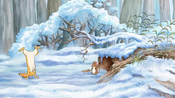 Der kleine Hase findet, dass am Kuddelmuddeltag alles ziemlich durcheinander ist. | Rechte: KiKA/SLR Productions Australia Pty.Ltd./Scrawl Studios Pte Ltd./hr/ARD
