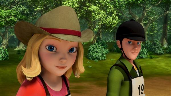 Wendy (li.) und ihr guter Freund Jerry (re.). | Rechte: ZDF/Wendy and Associated Characters (c) WPL 2012