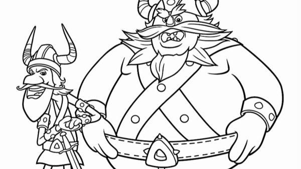 Der Schreckliche Sven | Rechte: Studio 100 Animation/ASE Studios