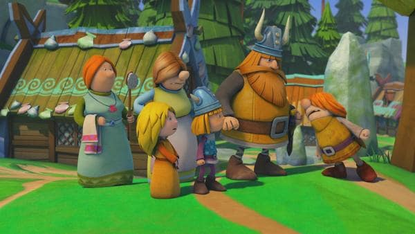 Snorre bringt alle gegen sich auf. | Rechte: ZDF/studio100 media