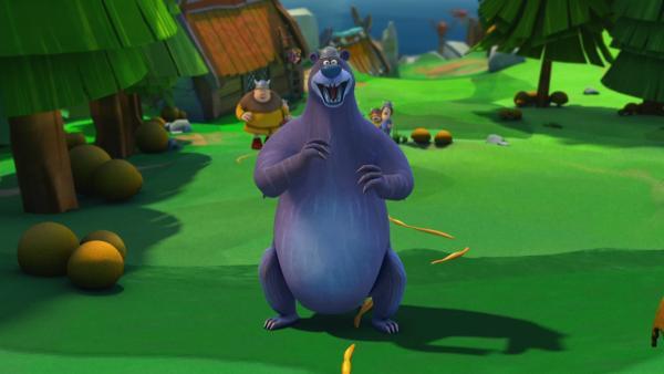 Mit Speck fängt man Mäuse. Und mit Honig fängt man Bären! | Rechte: ZDF/studio100media