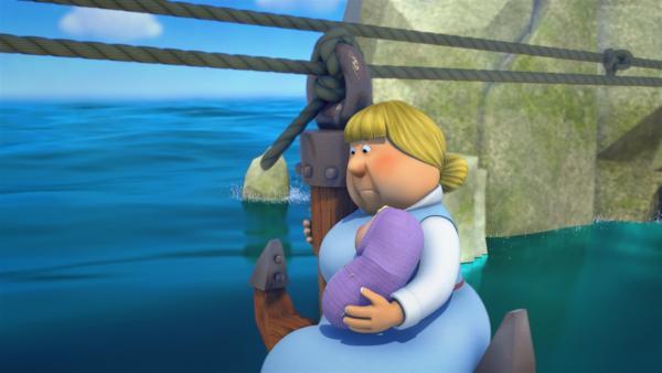 Die Rettungsaktion für die Schiffbrüchigen läuft an! | Rechte: ZDF/studio100media