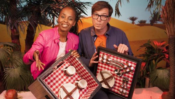 Shary und Ralph finden wieder jede Menge Antworten auf knifflige Fragen. | Rechte: WDR/Thorsten Schneider