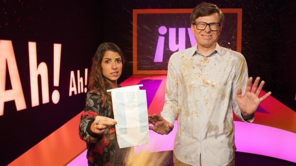 Clarissa und Ralph klären heute wieder spannende Fragen. | Rechte: WDR/Thorsten Schneider
