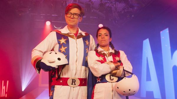 Clarissa und Ralph beschäftigen sich heute mit dem Thema: Dangerzone. | Rechte: WDR/Thorsten Schneider