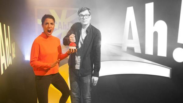 Clarissa und Ralph starten in schwarz-weiß und werden dann immer bunter. | Rechte: WDR/Thorsten Schneider