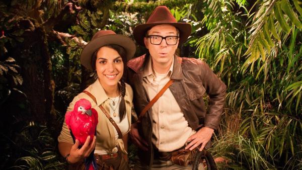 Clarissa und Ralph im Urwald | Rechte: WDR/Thorsten Schneider