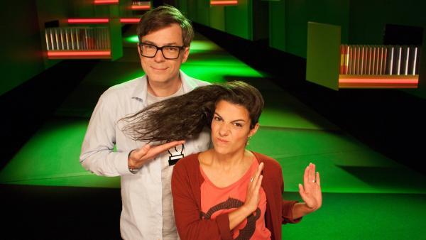 Ralph und Clarissa finden: Wissen ist nicht doof! | Rechte: WDR/Thorsten Schneider