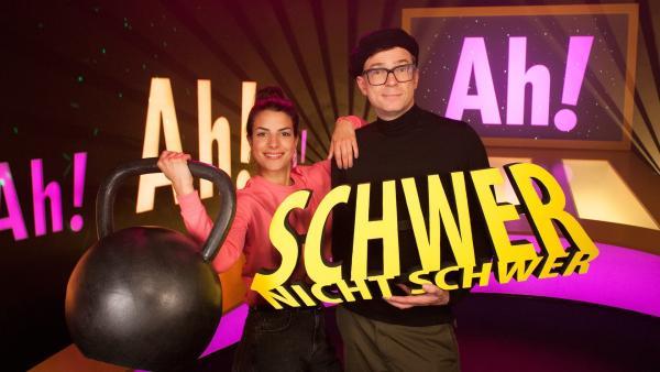 Bei Clarissa und Ralph wird es schwer im Studio. | Rechte: WDR/Thorsten Schneider