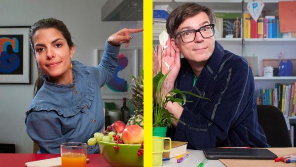 Clarissa und Ralph im Home Office | Rechte: WDR/Thorsten Schneider