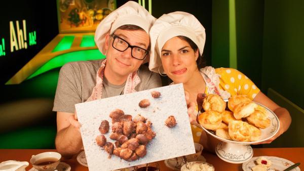 Clarissa und Ralph in der Küche | Rechte: WDR/Thorsten Schneider