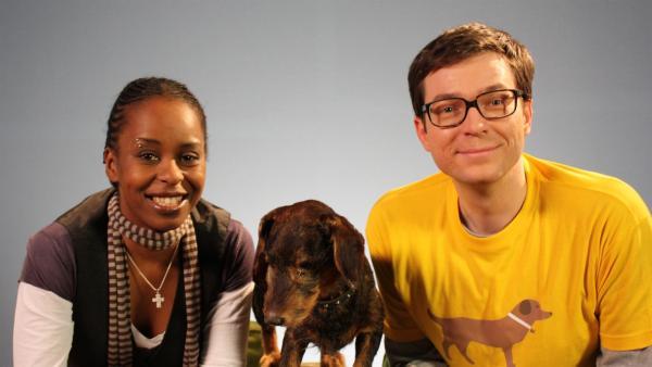 Die ultimative Sendung für alle Lumpi-Liebhaber: Shary und Ralph verraten die größten Geheimnisse unserer vierbeinigen Freunde. | Rechte: WDR/Laura Lehmus