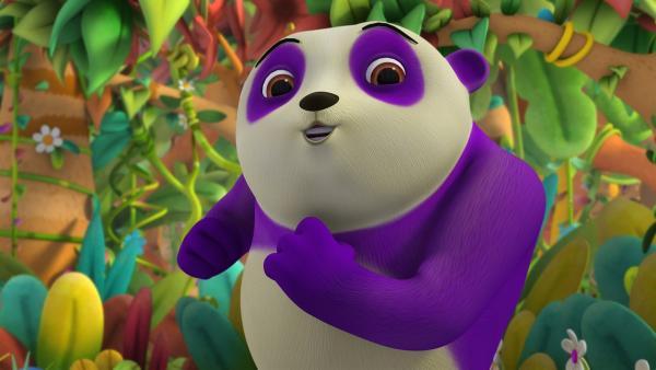Panda Dan möcht so schön singen können wie die Affen | Rechte: ZDF/m4e