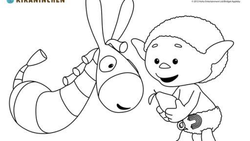 Kika Ausmalbild Zur Sendung Wolkenkinder