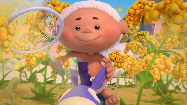 Bobo auf seinem Esel Flippo   Rechte: KiKA/Hoho Entertainment