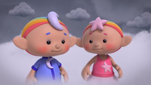 Baba Blau und Baba Pink | Rechte: KiKA/Hoho Entertainment