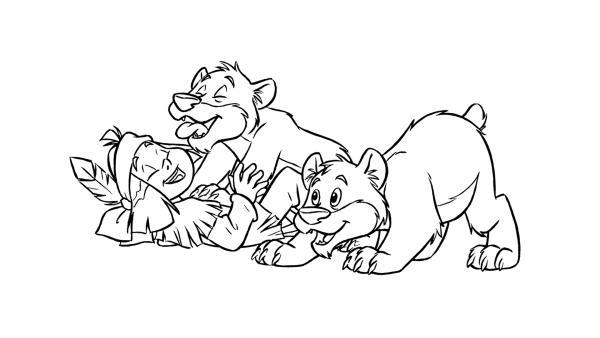 Yakari spielt mit den Bärenkindern. | Rechte: Storimages – 2 Minutes – Belvision  (© Derib + Job – Le Lombard )