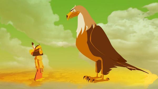 Yakari und sein Totem Großer Adler | Rechte: WDR/Storimage