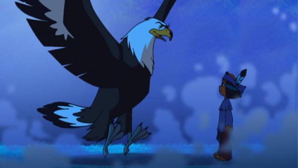 Yakari und sein Totem Großer Adler | Rechte: WDR/Storimages