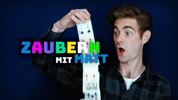 Zaubern mit Matt | Rechte: KiKA