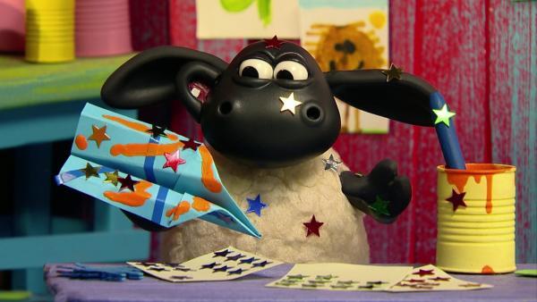 Timmy ist begeistert vom Weltall. | Rechte: WDR/Aardman Animations