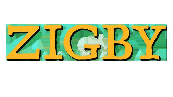 "Logo: ""Zigby, das Zebra ""   Rechte: ZDF"