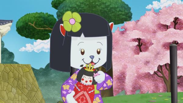 Zoé und ihre Freunde helfen dem Katzenmädchen Kamiko, rechtzeitig zu einem Wiedersehen mit einer Freundin zu kommen. | Rechte: KiKA/Mike Young Productions